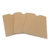 "4.5"" x 5.75"" Receipt Sleeve - Recycled Chipboard"