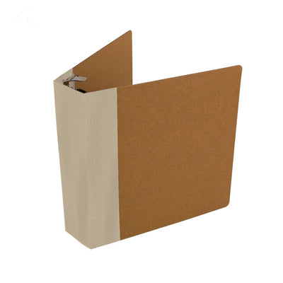 ReBinder Professional With Custom Spine Color - Canvas Linen