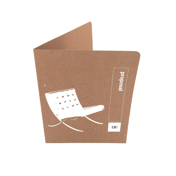 Custom Printed Presentation Folders - RePocket - One Color