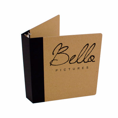"Foil Stamped 1.5"" ReBinder Professional Recycled Binders"