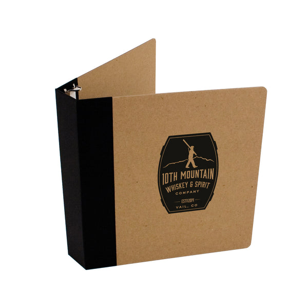 "Custom Printed 1.5"" ReBinder Professional Recycled Binders"