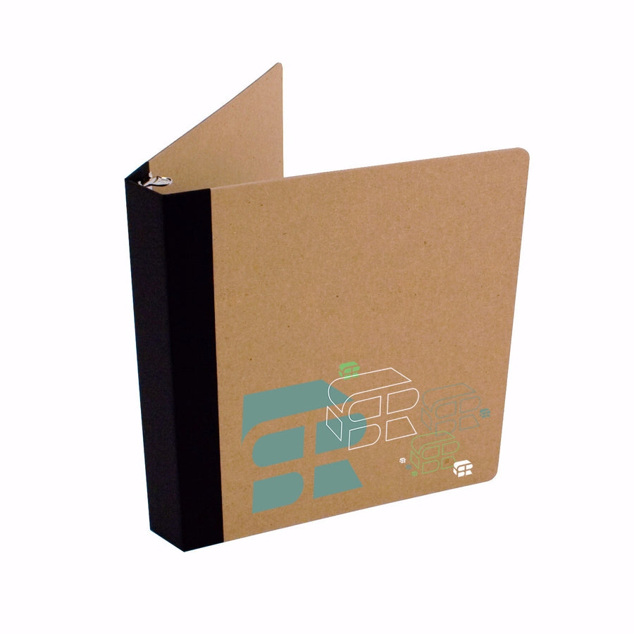 "Custom Printed 1"" ReBinder Professional Recycled Binders"
