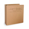 "Custom Printed 1"" ReBinder Select Recycled Binders - Recycled Chipboard Binder"