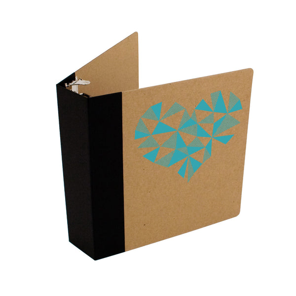 "Custom Printed 2"" ReBinder Professional Recycled Binders"