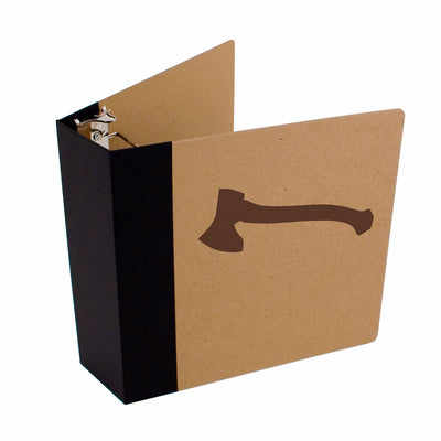"Foil Stamped 3"" ReBinder Professional Recycled Binders"