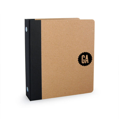 "Foil Stamped 1"" ReBinder Professional Mini Recycled Binder"