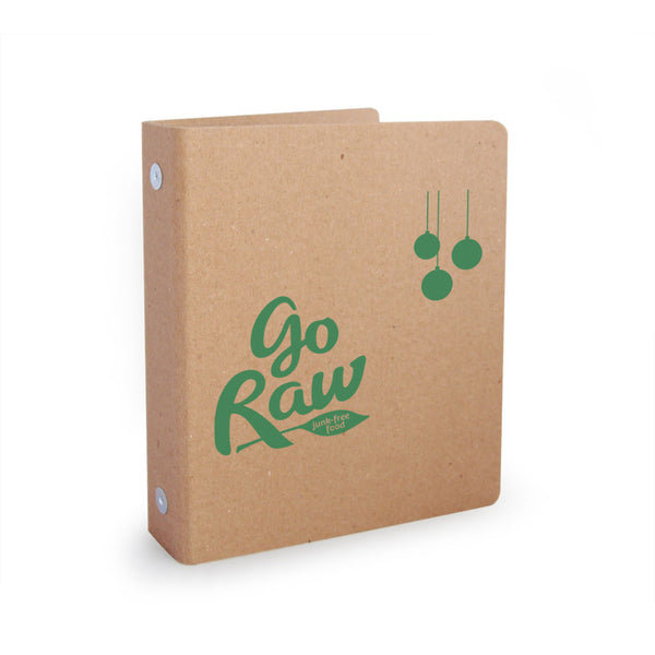 "Foil Stamped 1"" ReBinder Select Mini Recycled Binders"