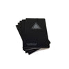 "Custom Foil Stamped Black Notebooks - 3.5"" x 5.5"""