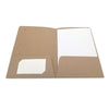 Foil Stamped Recycled Mini Pocket Folder - Two Pocket