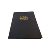 Foil Stamped Black Recycled Presentation Folder - Two Pocket