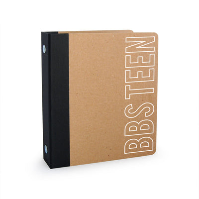 "Custom Printed 1"" ReBinder Professional Mini Recycled Binder"
