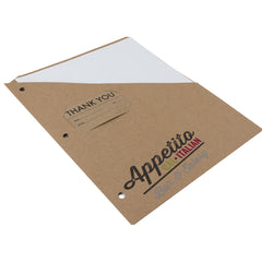 Custom Printed Binder Pockets - RePouch - Appetito without CD Slot