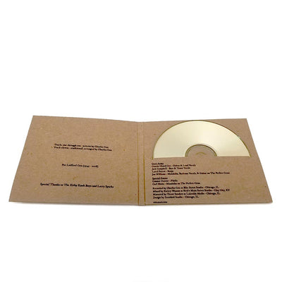 Custom Screen Printed Recycled CD Case - Two Disc