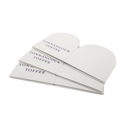 Full Color Printed Iris Folding Box - Colored Card Stock