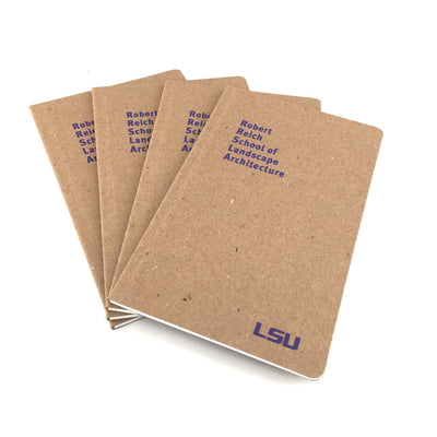"Custom Printed Recycled Notebooks - 5"" x 8"""
