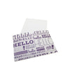 "5.5"" x 4.25"" Full Color Printed Receipt Sleeve - White Card Stock"