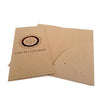 Full Color Printed Single Pocket Brochure Folder - Recycled Chipboard
