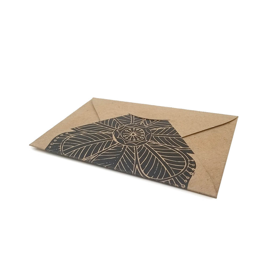"4"" x 6"" Custom Printed Recycled Pochette Envelopes"