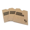 "4.5"" x 5.75"" Full Color Printed Receipt Sleeve - Recycled Chipboard"