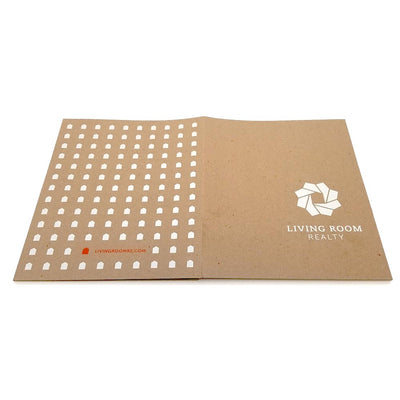 Custom Printed Recycled Presentation Folder - Three Pocket