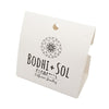 Full Color Printed Necklace Display Card with Pouch - White Card Stock