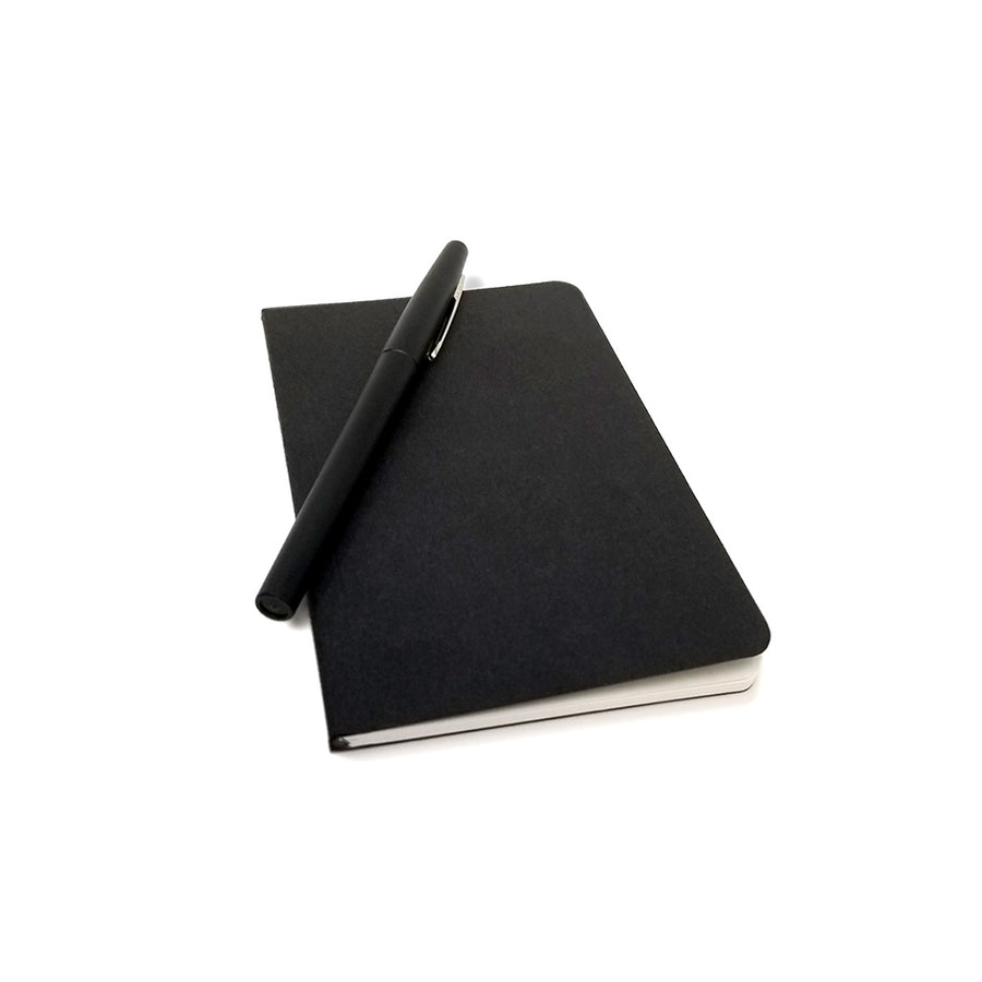 "Custom Printed Black Notebooks - 3.5"" x 5.5"""