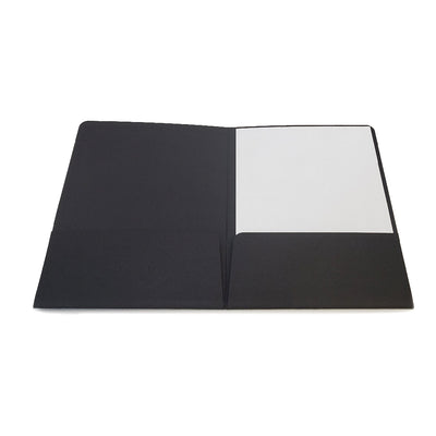 Custom Foil Stamped Professional Presentation Folders Inside