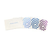Custom Foil Stamped White Business Cards Colorful