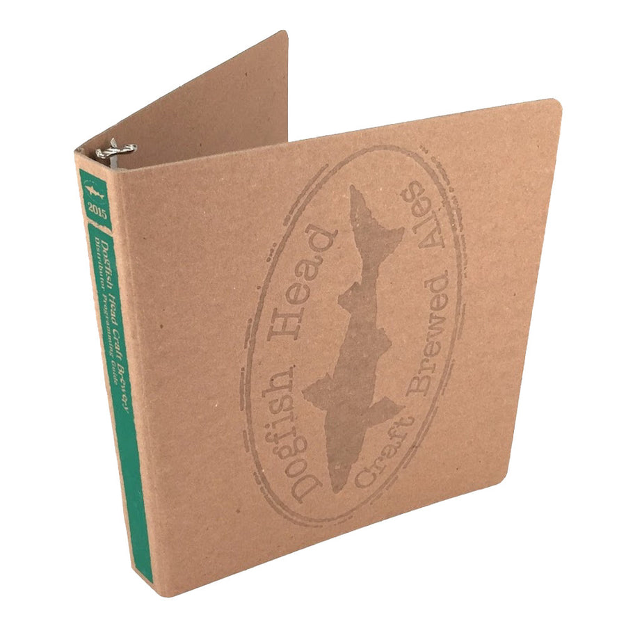 "Foil Stamped 1"" ReBinder Select Recycled Binders"
