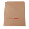 Foil Stamped Pocket Folders - RePouch - Red Foil