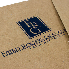 "Foil Stamped 1/2"" ReBinder Select Recycled Binders"