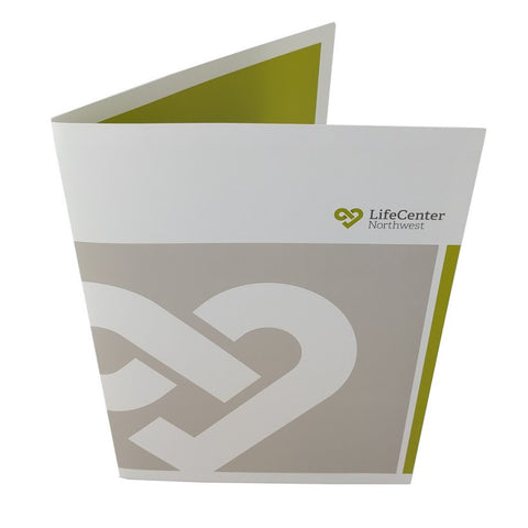 Full Color Standard Presentation Folders