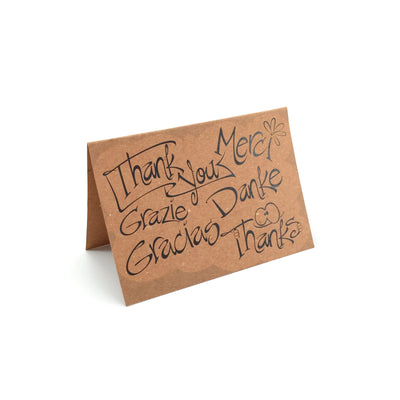 "5"" x 7"" Recycled Greeting Cards - Guided  - 5"