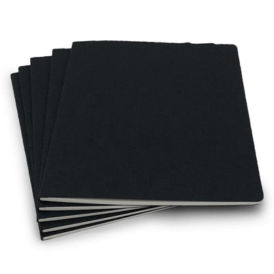 Guided Natural Black Notebook 8x10