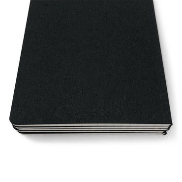 Guided Black Notebook