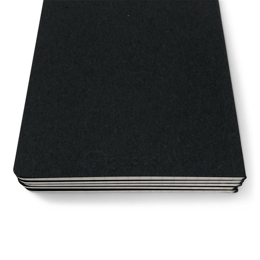 Guided Natural Black Notebook Journal