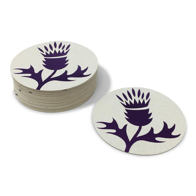 Custom Foil Stamped Coasters - Thistle Farms