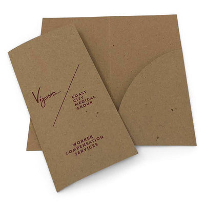 Guided Custom Printed Brochure Folder