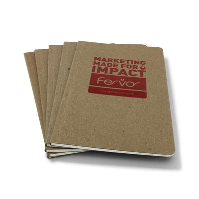 Guided Recycled Foil Stamped Notebook - Fervor