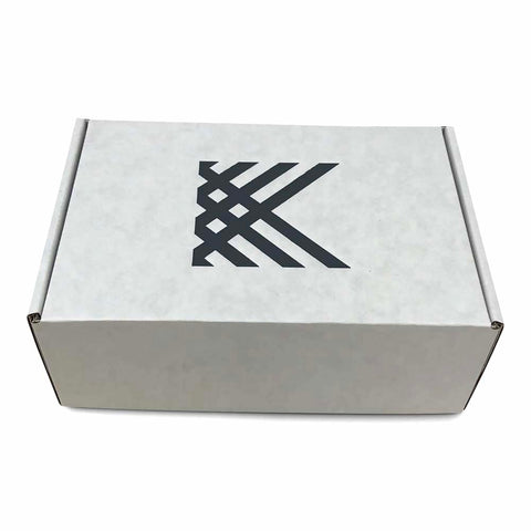 Custom Foil Stamped White Mailer Boxes