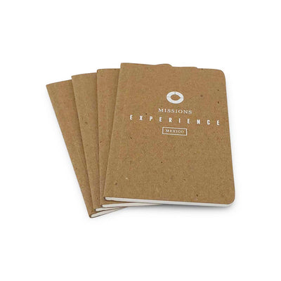 Guided Recycled Screen Printed Notebooks