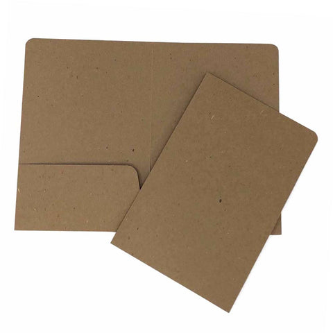 Recycled Presentation Folder - Two Pocket