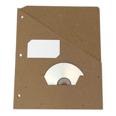 Guided Single Pocket Recycled Binder Folder