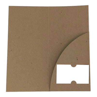Guided Recycled Brochure Folder