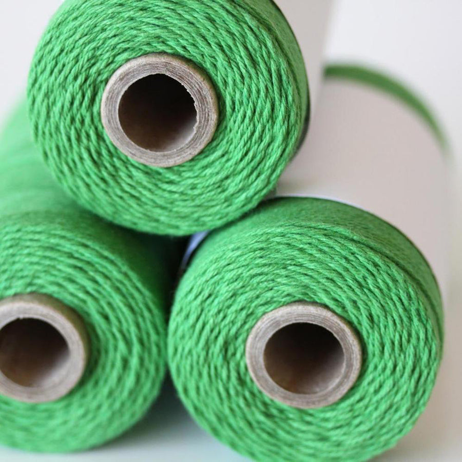 Bakers Twine - Solid Peapod Green Spool - 240 Yards