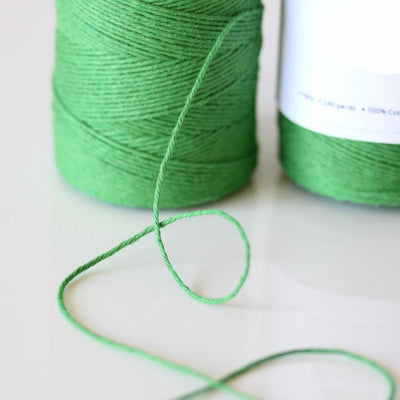 Bakers Twine - Solid Peapod Green Spool - Perfect for card making