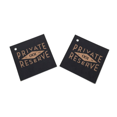 Brown Kraft Hang Tags - Private Reserve
