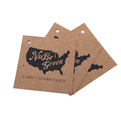 Brown Kraft Hang Tags - Brown Kraft