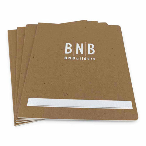 Custom Printed Recycled Notebooks - 8