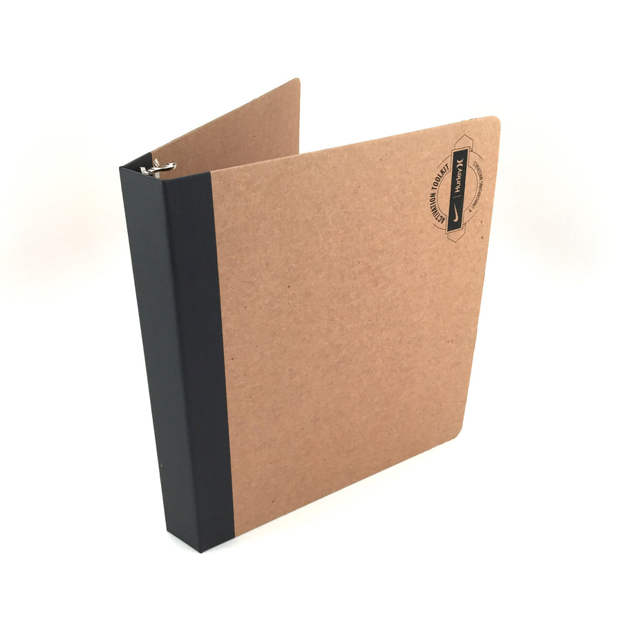 "Foil Stamped 1"" ReBinder Professional Recycled Binders"